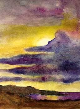 Purple Sky by Marita McVeigh