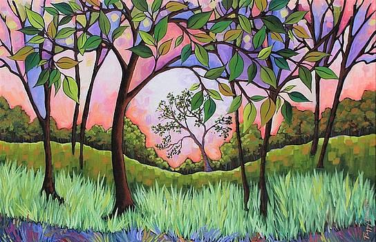 Purple Sky by Peggy Davis