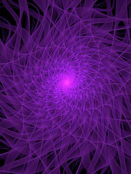 Purple Spiral by Tim Abeln
