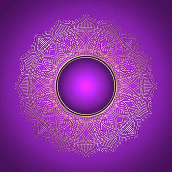 Valdecy RL - Purple Sun Mandala