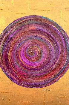 Purple Swirl by Michelli Cockburn