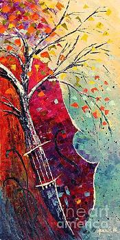 Purple Symphony by Amalia Suruceanu