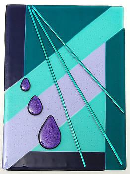 Purple Tears by Sandy Feder