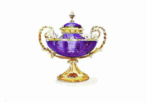Purple Vase by Masha Batkova