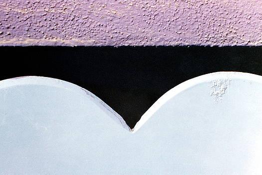 Purple Venice Gate by Derrick Anderson