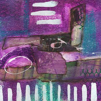 Purple Visions #1 by Judy Applegarth