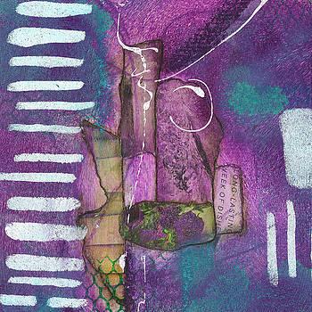 Purple Visions #2 by Judy Applegarth