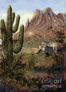 Pusche Ridge from the El Conquistador by Tim Oliver