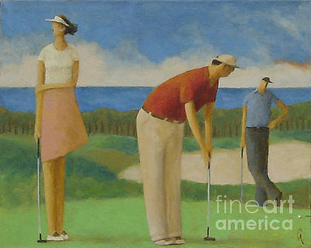 Putters On The North Shore by Glenn Quist