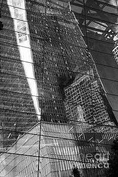 Puzzle City Mirror by Donato Iannuzzi