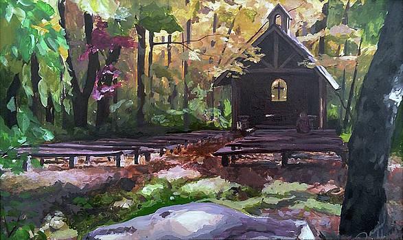 PVM Outdoor Chapel by David Maynard