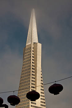 Pyramid Building San Francisco with Incoming Fog by Mark Hendrickson