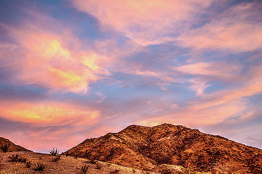Pyramid Canyon Sunrise by James Marvin Phelps