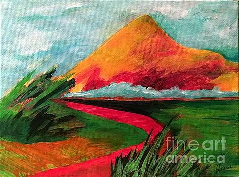 Pyramid Mountain by Elizabeth Fontaine-Barr