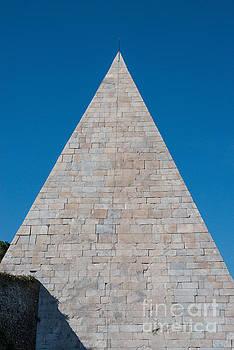 Pyramid of Caius Cestius by Joseph Yarbrough