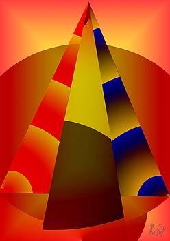 Pyramids pendulum by Helmut Rottler