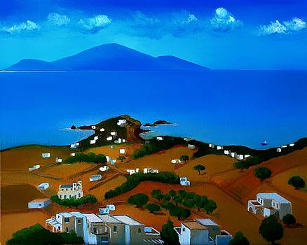 Pyrgi of Paros by Kostas Koutsoukanidis