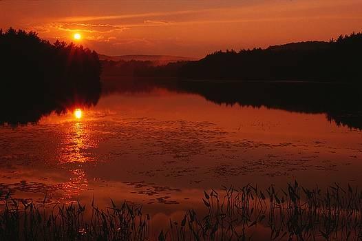Quabbin Sunset by James Walsh