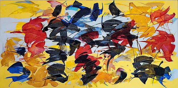 Quadrophonic giallo   by Giovanna Mancuso