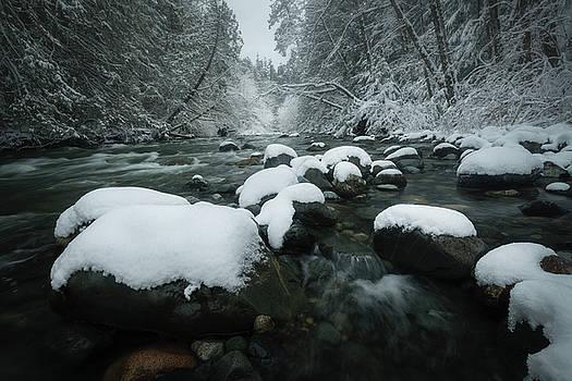 Qualicum River by Adam Gibbs