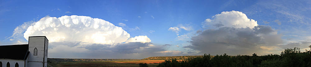 Qu'Appelle Valley Panorama by Andrea Lawrence