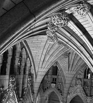 Quebec Parliament Building by Terry Burgess