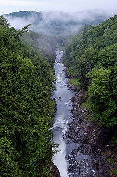 Quechee Gorge by Lance E King