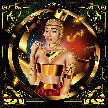 Queen Amandla Stenberg by Kenal Louis