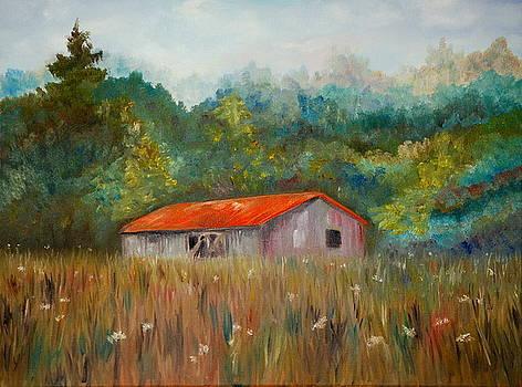 Queen Anne Lace Farm by Phil Burton