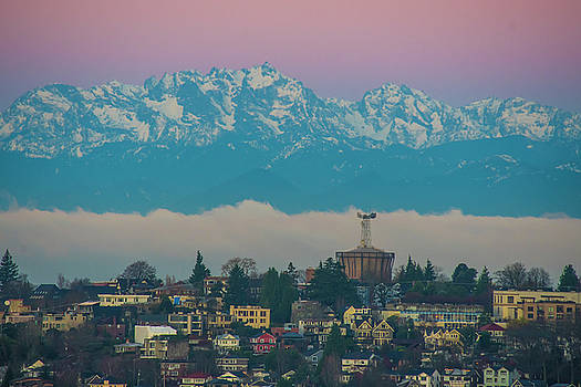 Queen Anne Sunrise by Matt McDonald