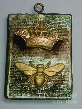 Queen Bee Pendant 1 by M Brandl
