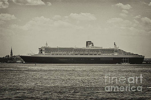 Dale Powell - Queen Mary 2 in Sepia