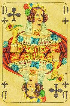 Queen of Clubs by Martin Bergsma