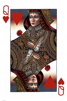 Queen of Hearts by Jane Whiting Chrzanoska