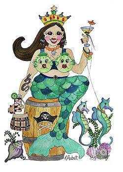 Queen Of The Sea by Rosemary Aubut
