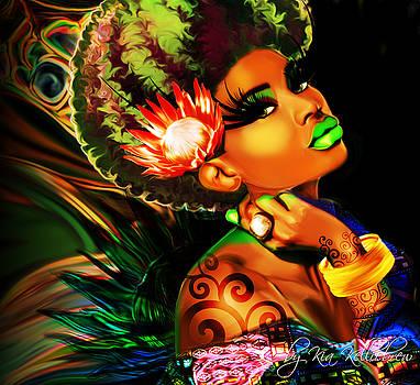 Queen Protea by Kia Kelliebrew