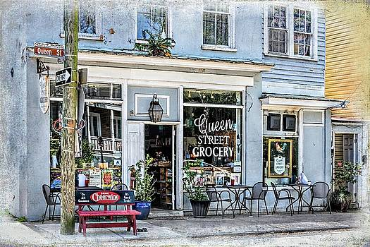 Queen Street Grocery Charleston South Carolina by Melissa Bittinger