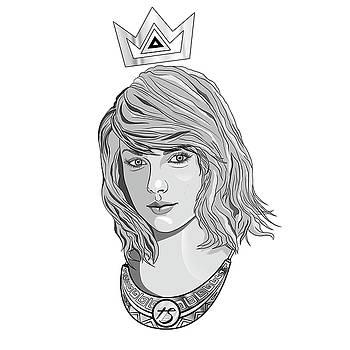 Kenal Louis - Queen Taylor Swift In Grey