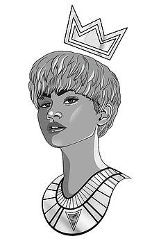 Queen Zendaya by Kenal Louis