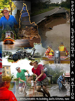 Queensland Floods 2010-2011 by Michelle Dick