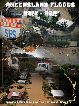 Queensland Floods 2011 by Michelle Dick