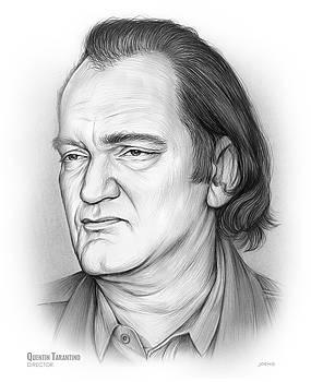 Quentin Tarantino by Greg Joens