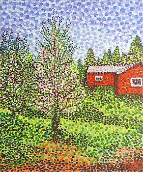 Quick Blossoms, New Grass by Alan J Hogan