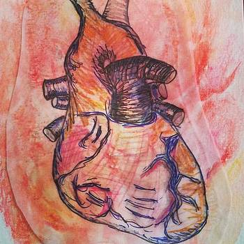 Quick Draw Heart #ineedanap by Karen Bosquez