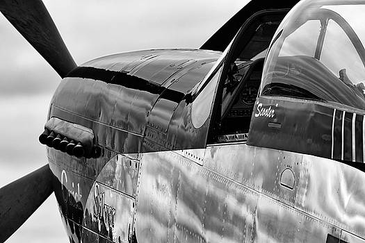 Quick Silver and Gray Skies - 2018 Christopher Buff, www.Aviationbuff.com by Chris Buff