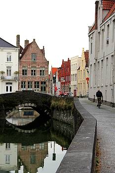 Quiet afternoon in Bruges, Belgium by Sean Flynn