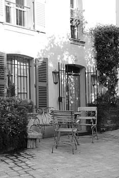 Quiet moment  at Saint -  Tropez by Tom Vandenhende