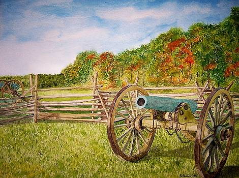 Quiet Morning At Gettysburg by B Kathleen Fannin