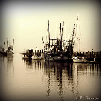 Quiet Morning on Shem Creek by Jill Tennison