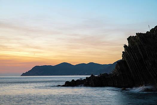 Quiet night in Riomaggiore by Yuri Santin